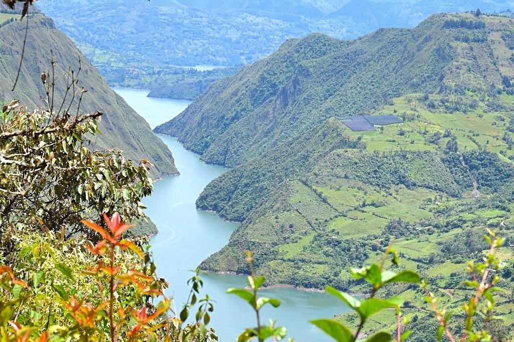 Fjorden in Colombia