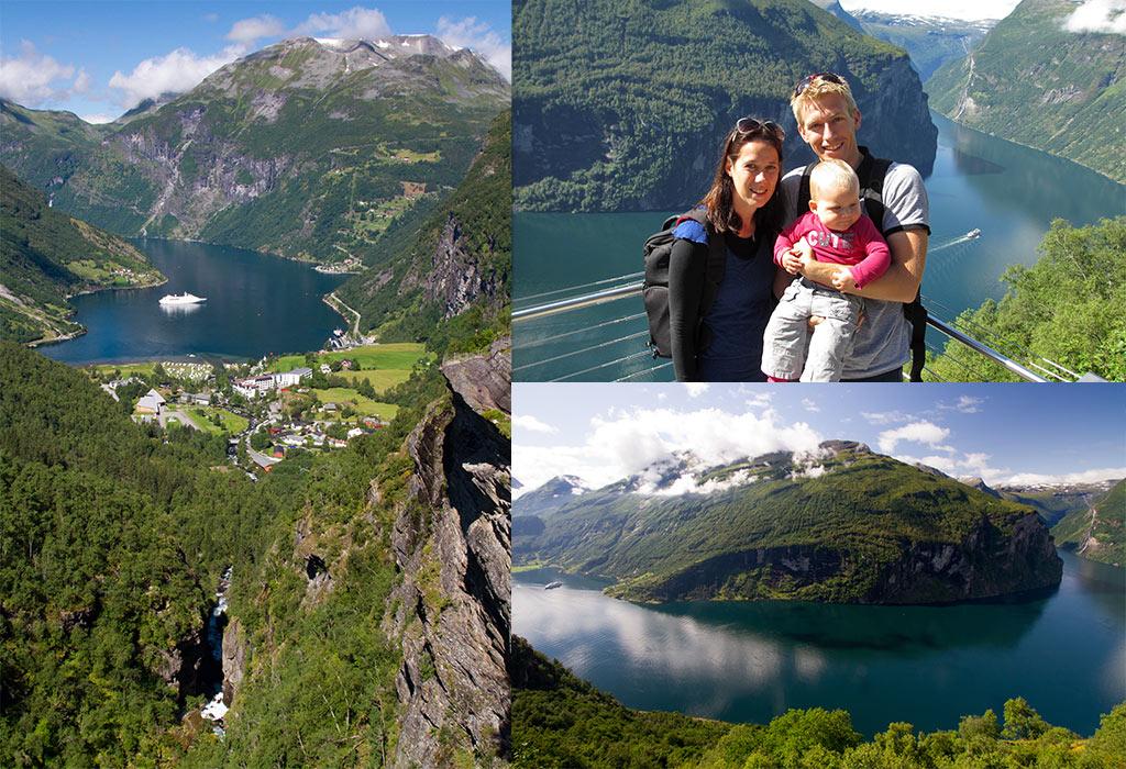Geiranger Fjord Noorwegen