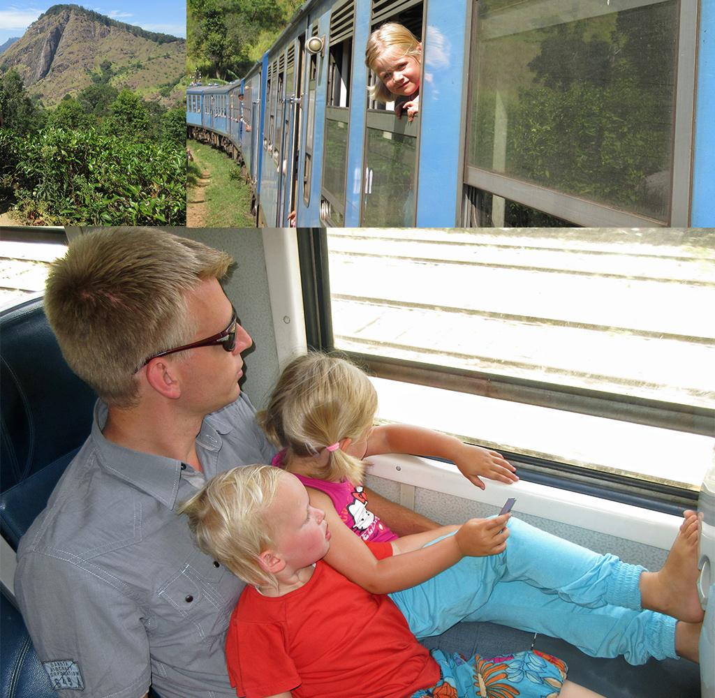 Genieten van de treinreis Ella - Haputale