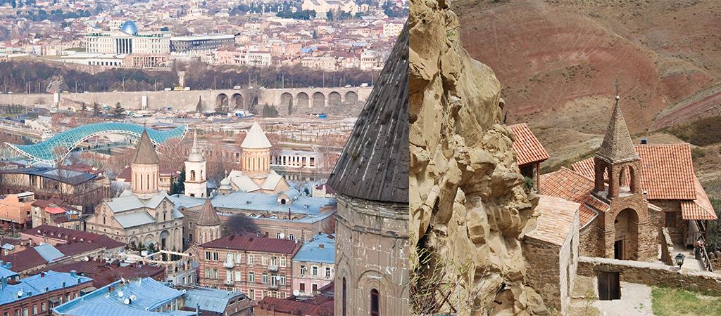 Georgië Tbilisi en David Gareja