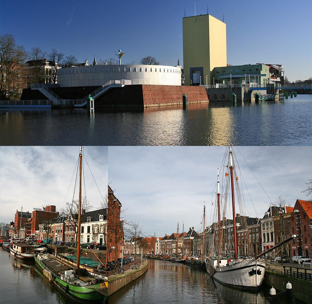 Groninger museum, Hoge der Aa, Noorderhaven
