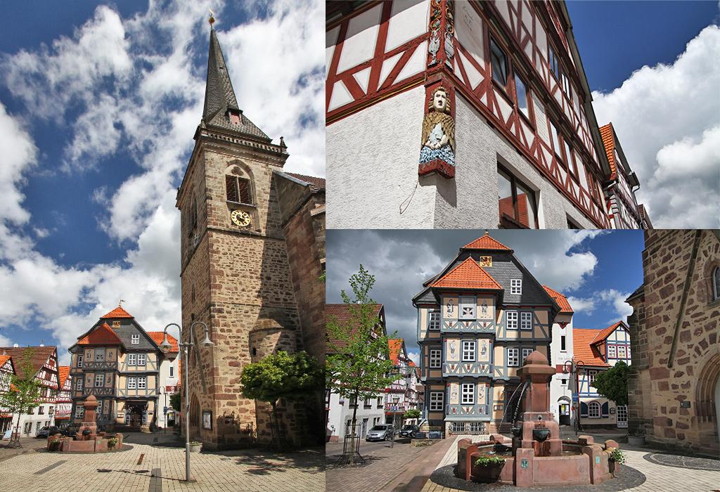 Hessisch Lichtenau marktplatz