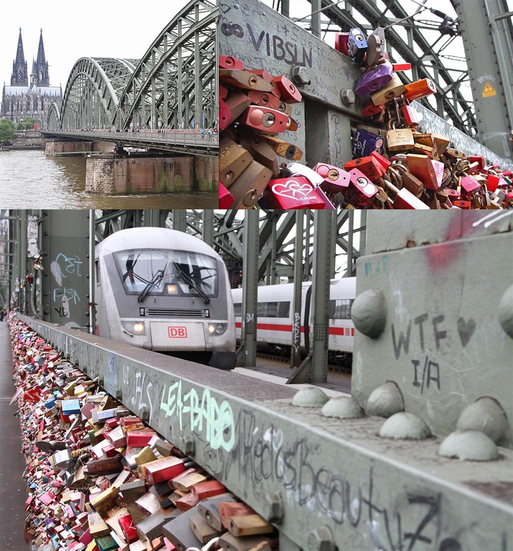 Hohenzollernbrücke Keulen