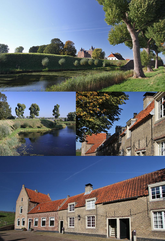 Hollandse Waterlinie Slot Loevestein