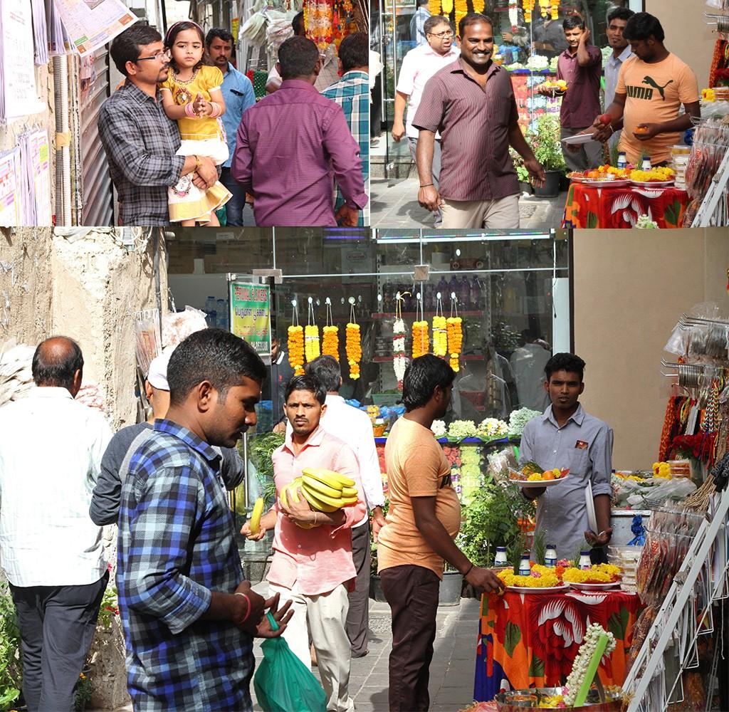 Indiërs bepalen straatbeeld Dubai