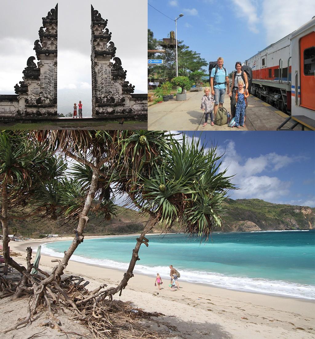 Indonesië met kinderen - 3 eilanden