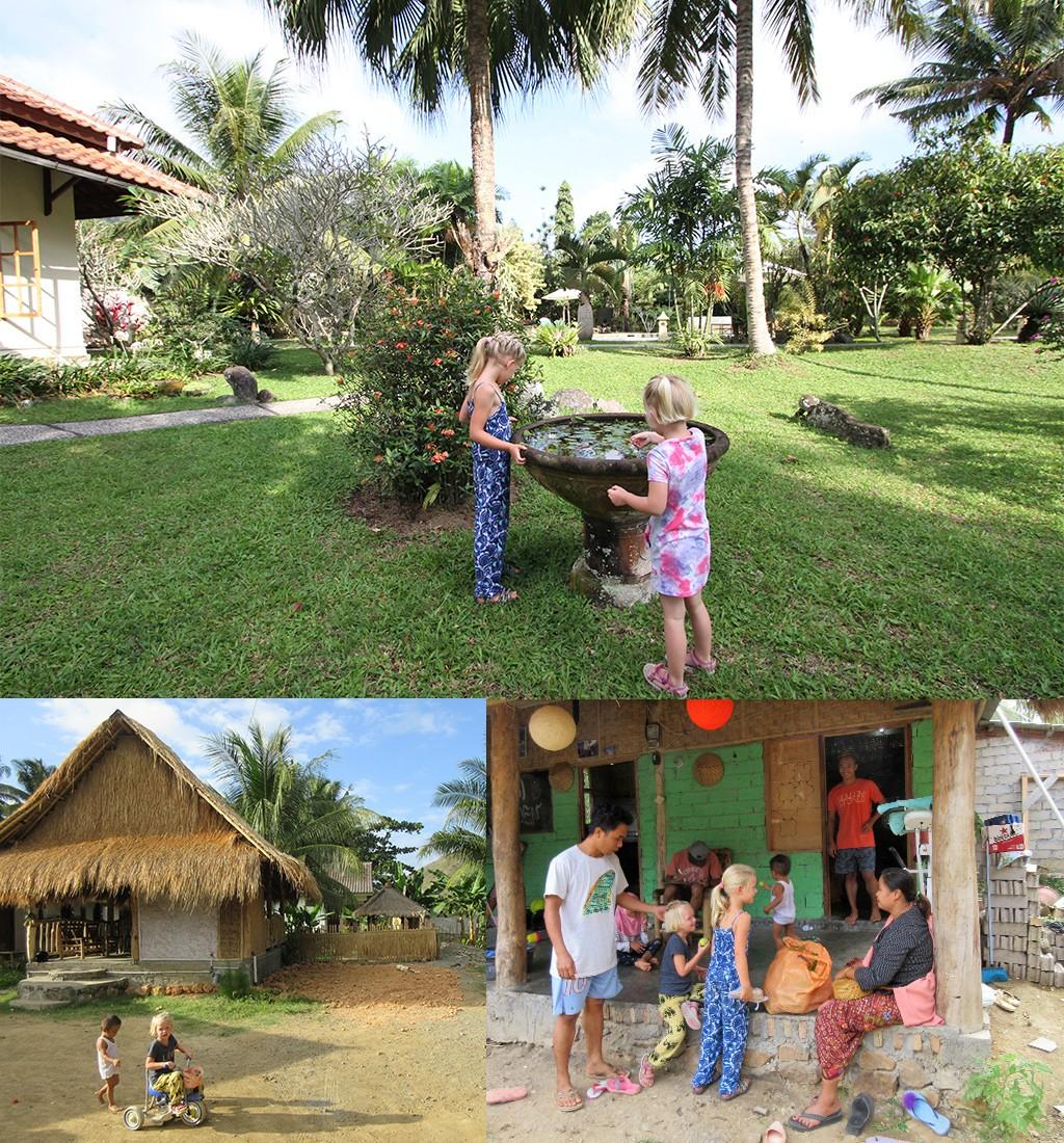 Indonesië met kinderen - accommodatie