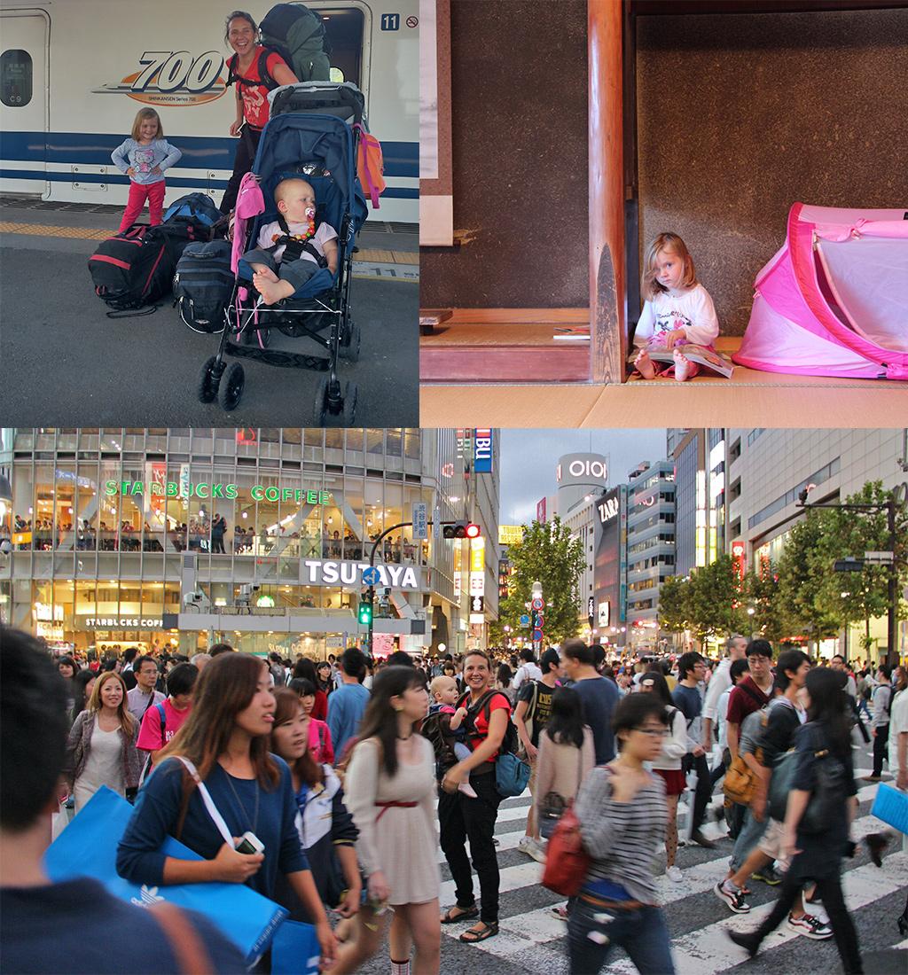 Japan met kinderen voorbereidingen