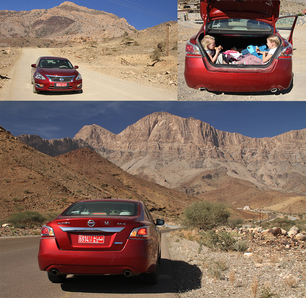 Jebel Shams zonder 4x4