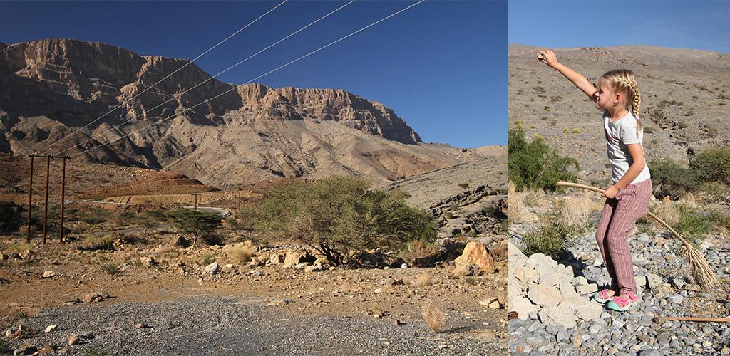 onderweg naar Jebel Shams