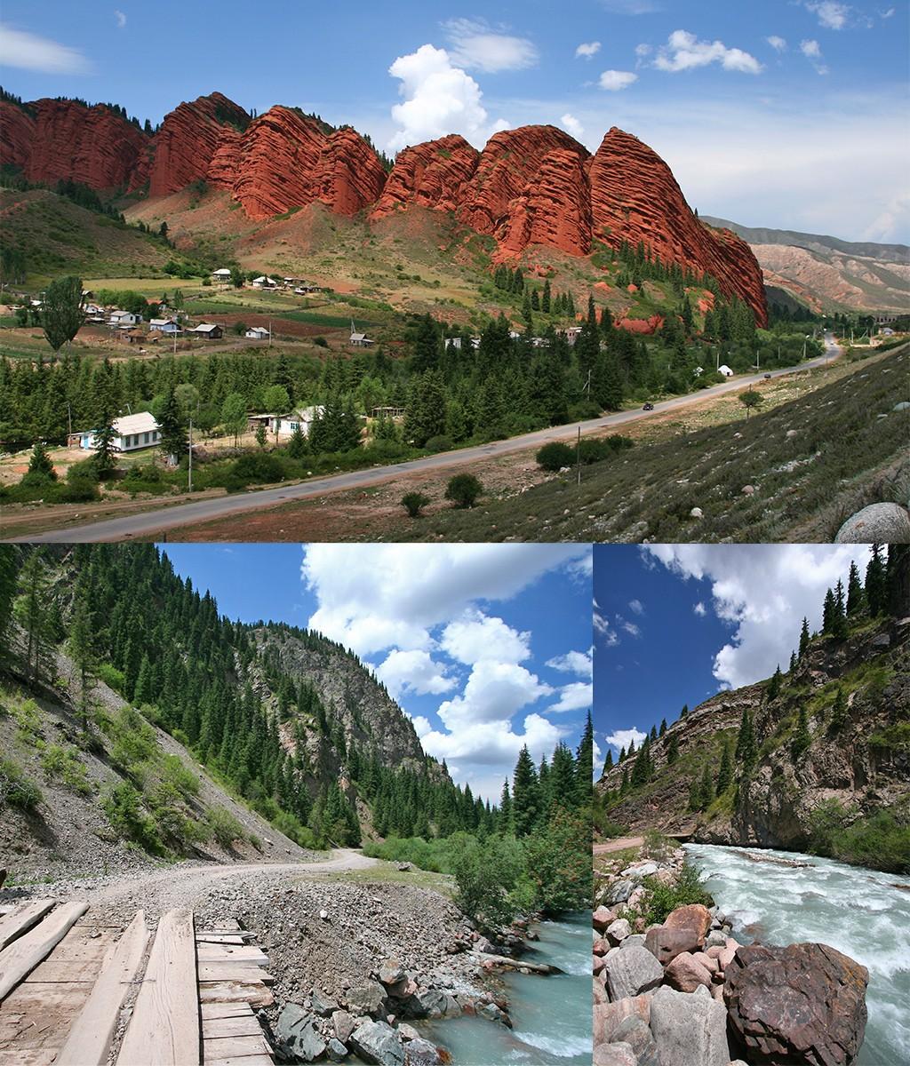 Jeti-Ogüz Kirgizië