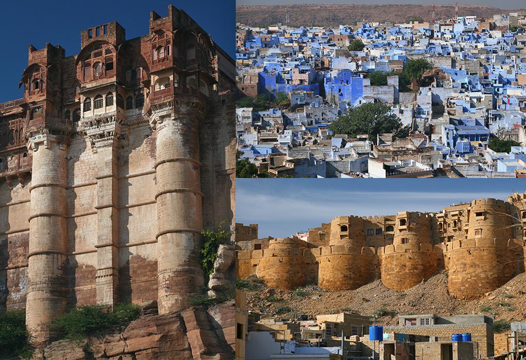Jodhpur en Jaisalmer Rajasthan