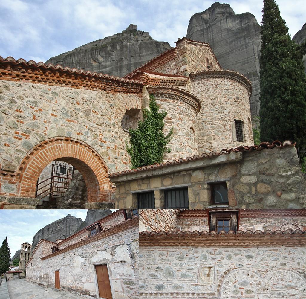 Kalampaka byzantijnse kerk