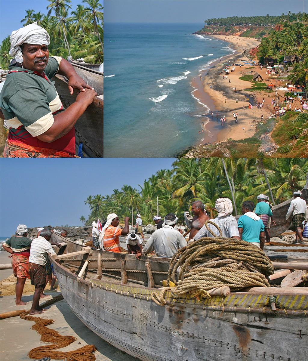 Kerala Varkala strand