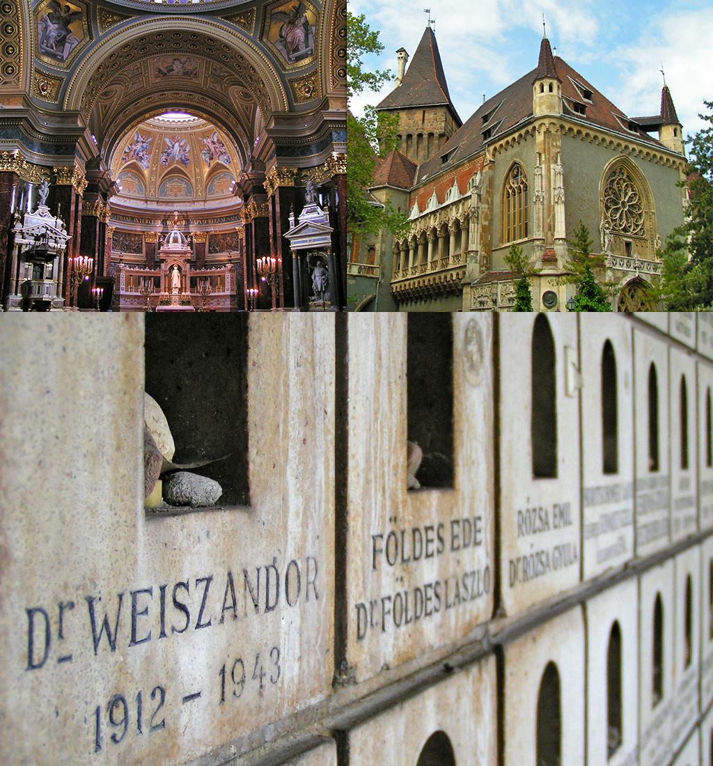 Kerken en Synagoge Boedapest