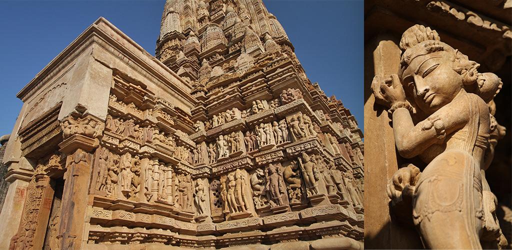 Khajuraho Kama Sutra Temples-Madhya-Pradesh