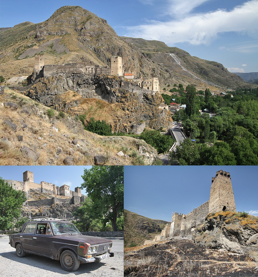 Khertvisi kasteel bij Vardzia