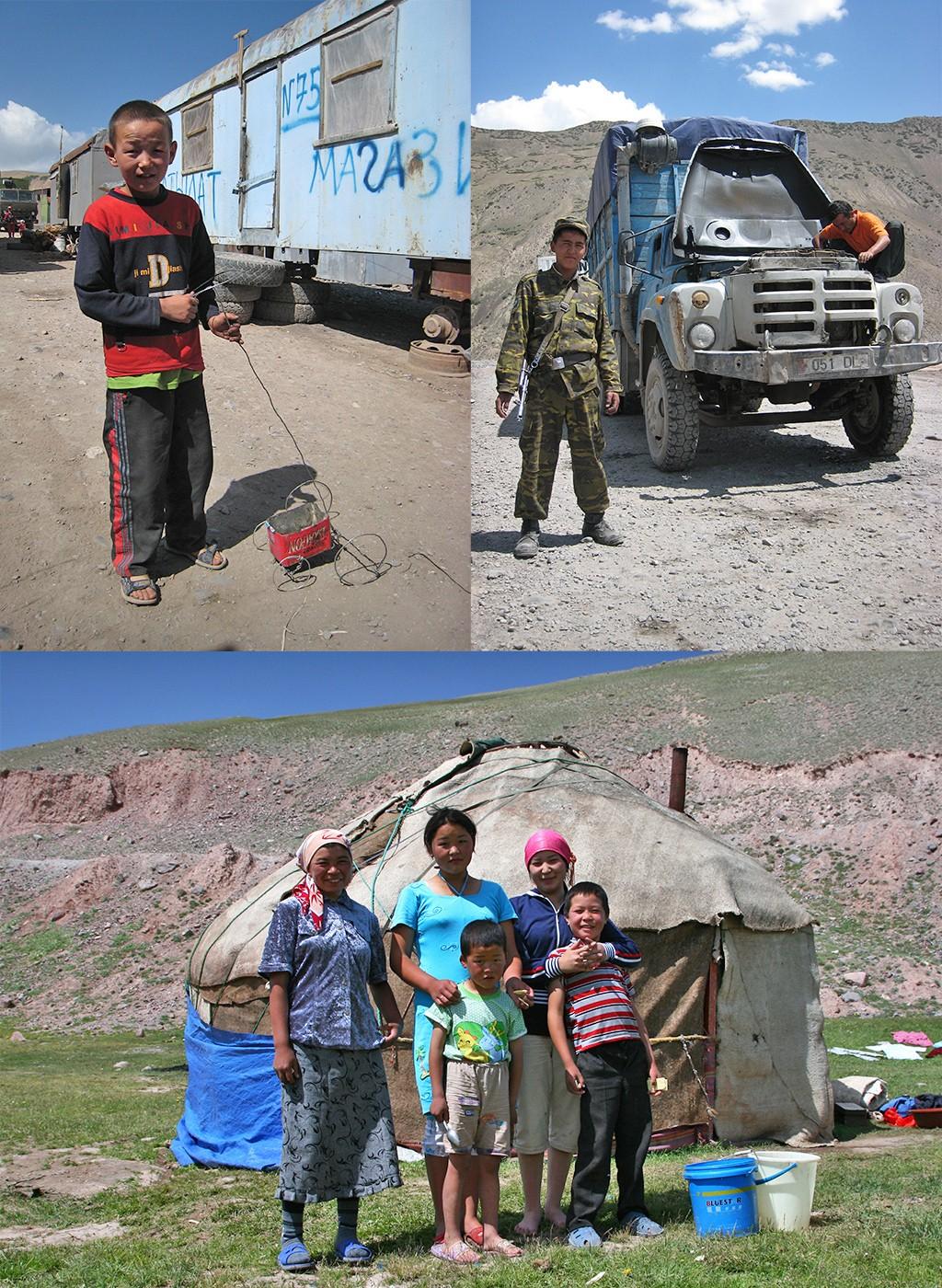 Kirgizië Irkeshtam pas