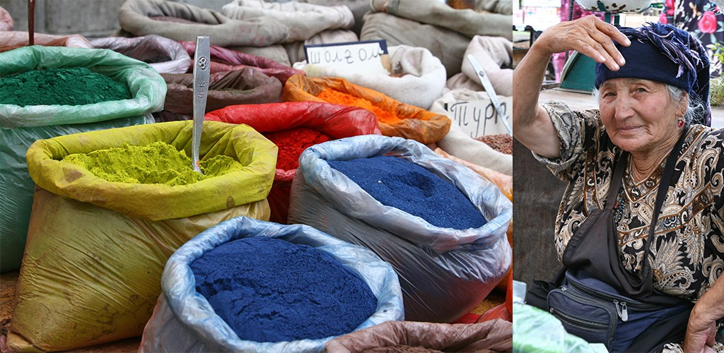 Kirgizië - markt Osh