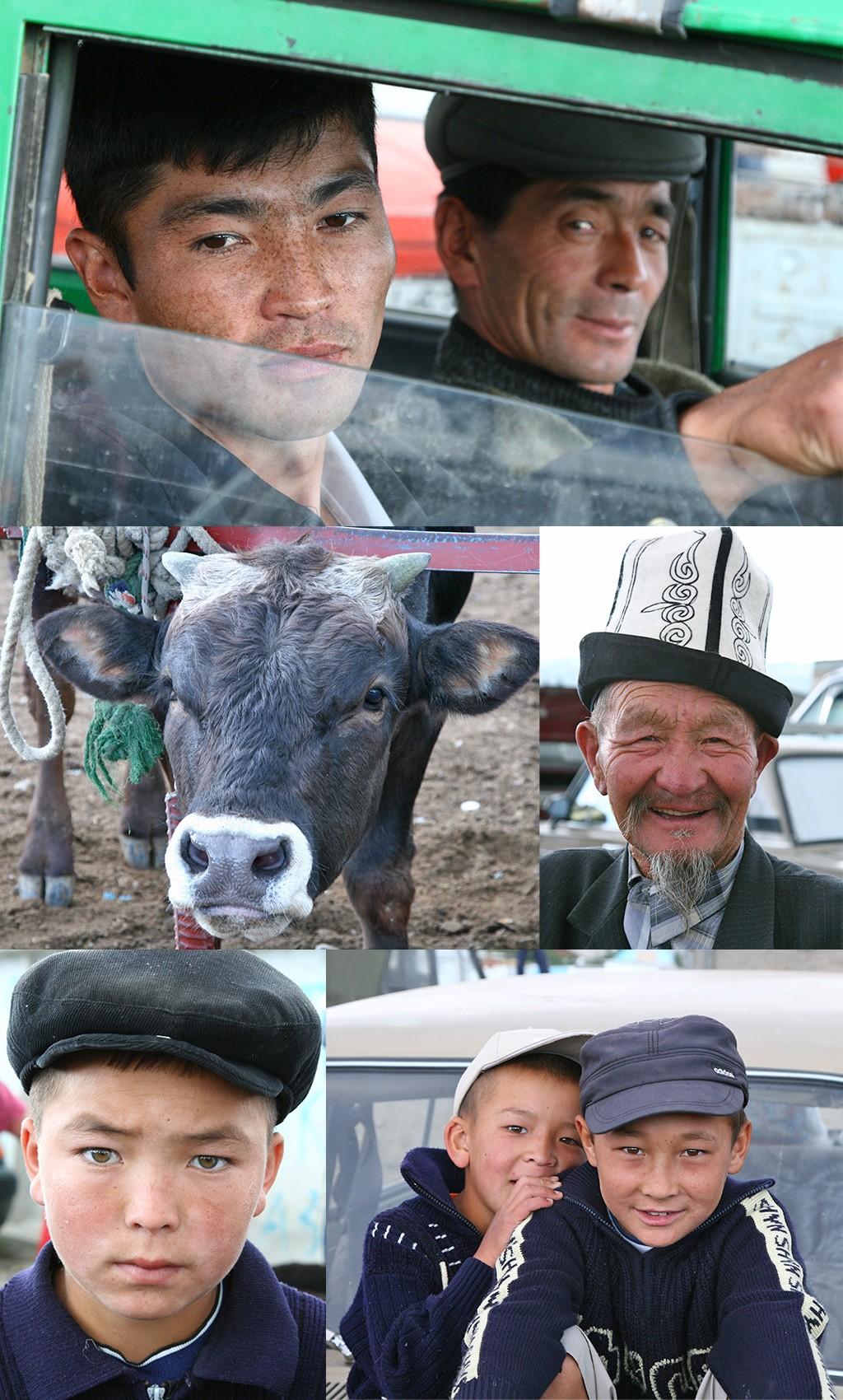 Kirgizië - veemarkt karakol