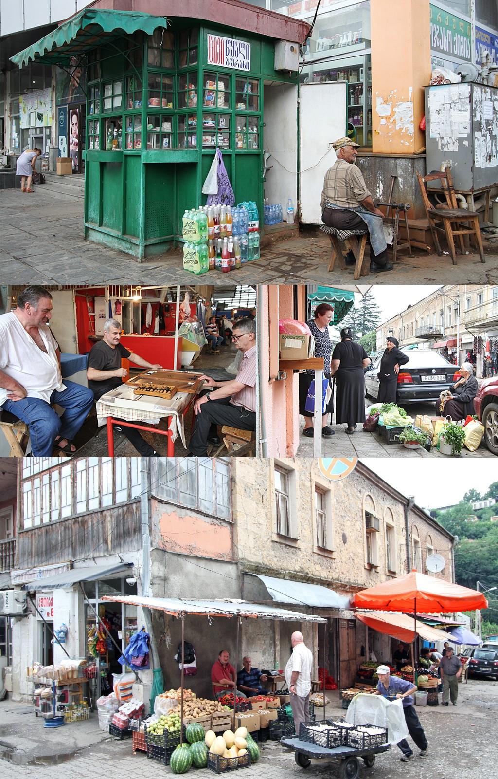 Kutaisi markt