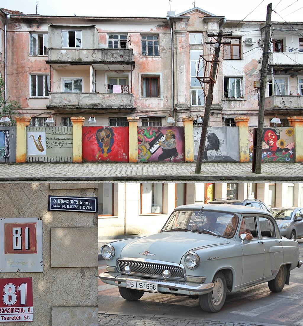 Kutaisi straatbeeld