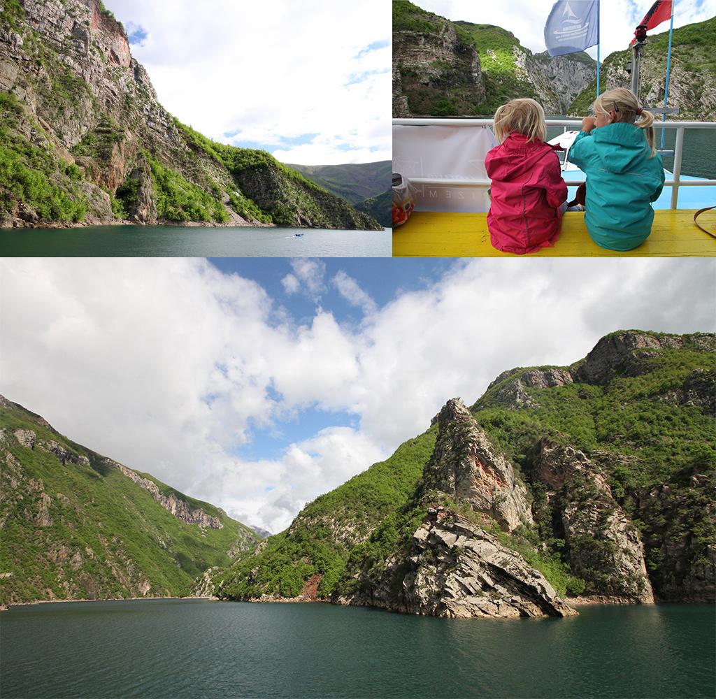 Lake Koman Albanië