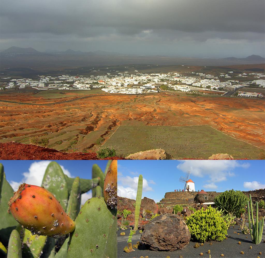 Lanzarote december: 4 jaargetijden in een dag
