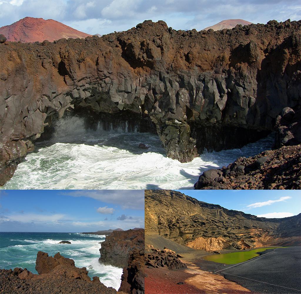 Los Hervideros en El Golfo Lanzarote