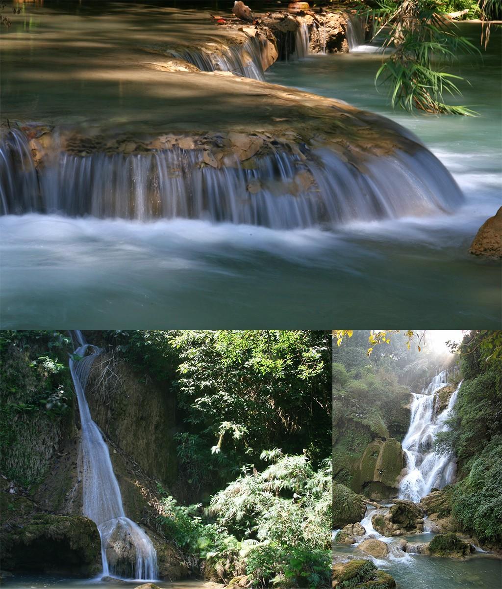 Luang Prabang Kuang Si waterval