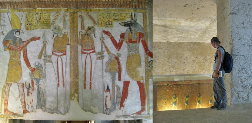 Luxor schatten van Vallei der koningen
