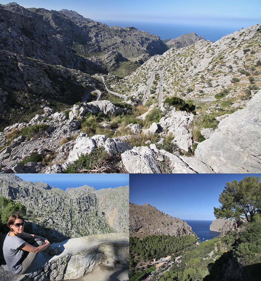 Mallorca Sa Calobra bergweg