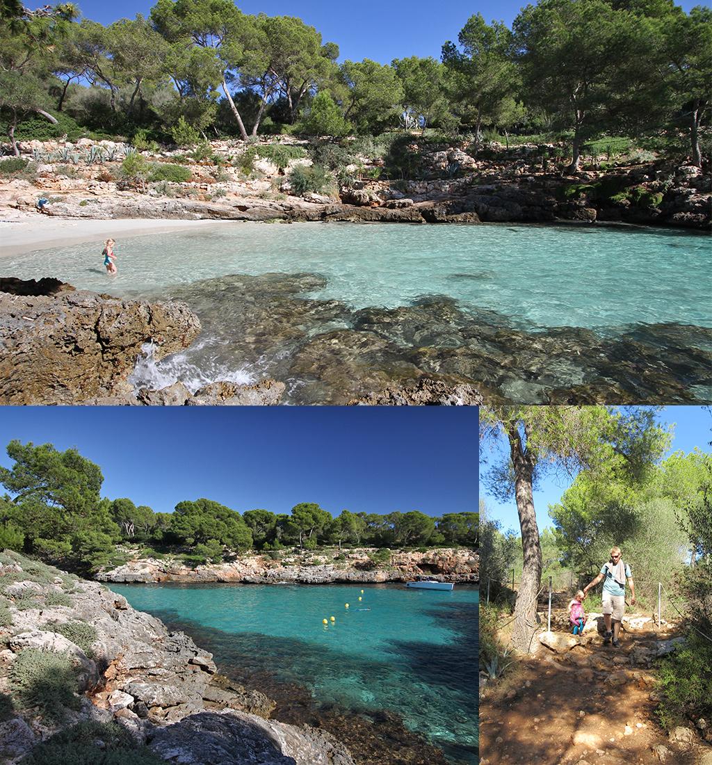 Mallorca strand Cala Mitjana