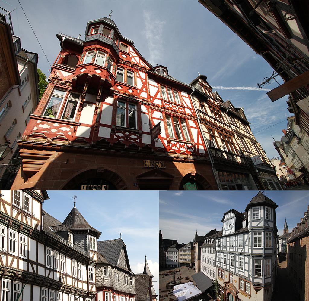 Marburg vakwerkhuizen