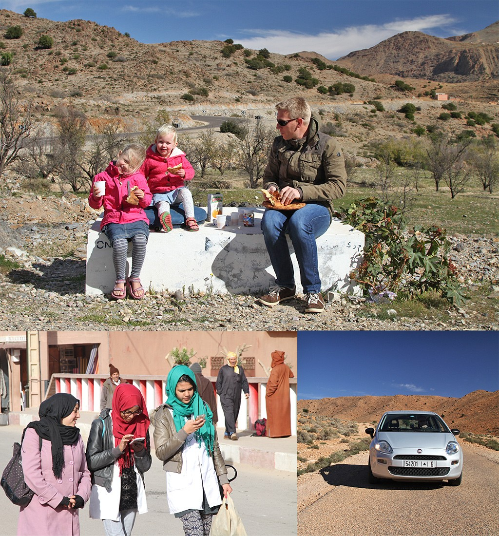 Marokko met kinderen in de winter