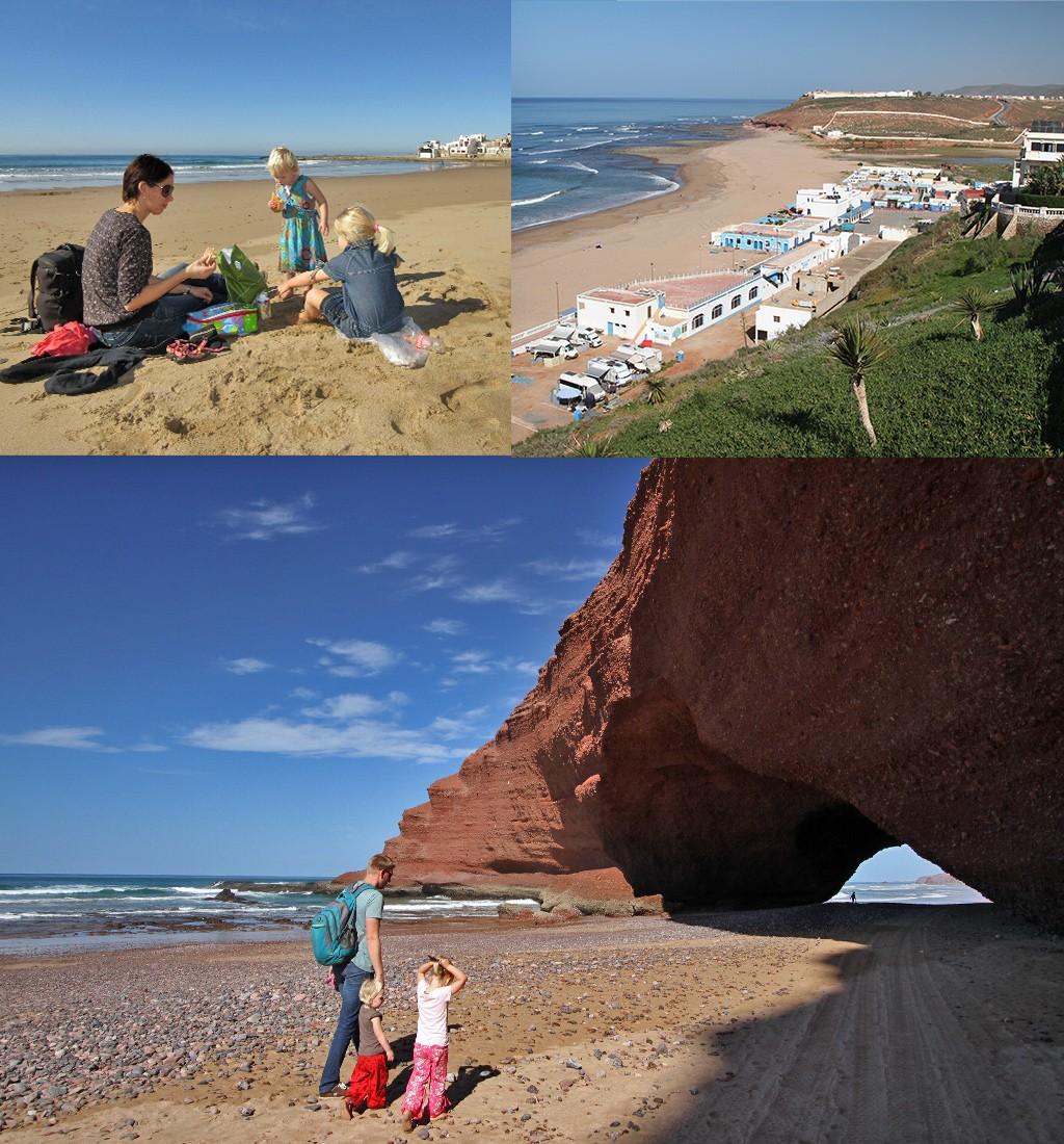 Marokko met kinderen - strand