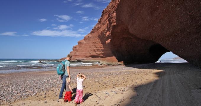 Marokko met peuter en kleuter