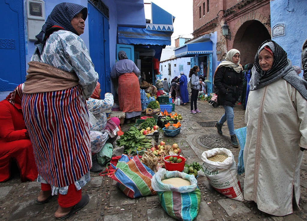 Marokko oktober