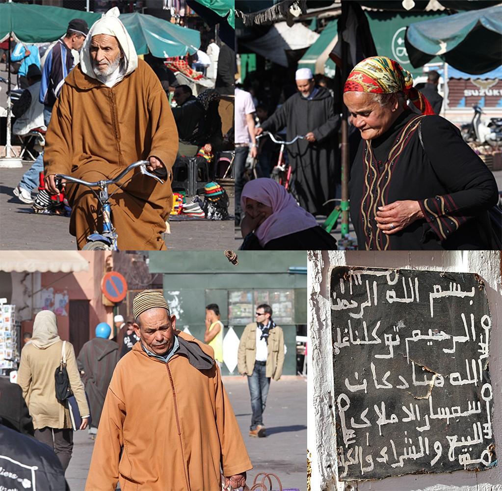 Marrakesh mensen