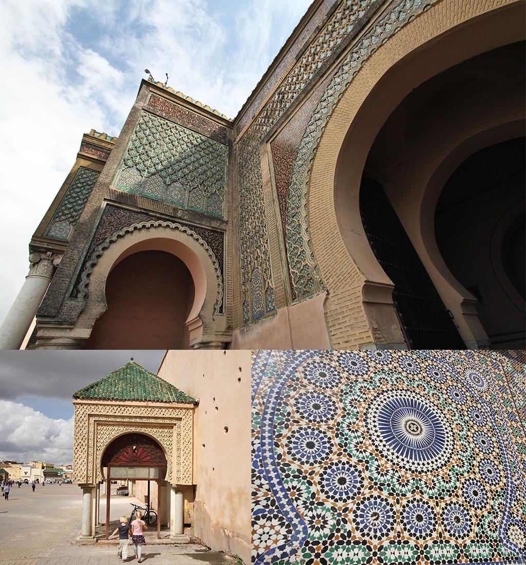 Meknès Bab el Mansour en El Hedim