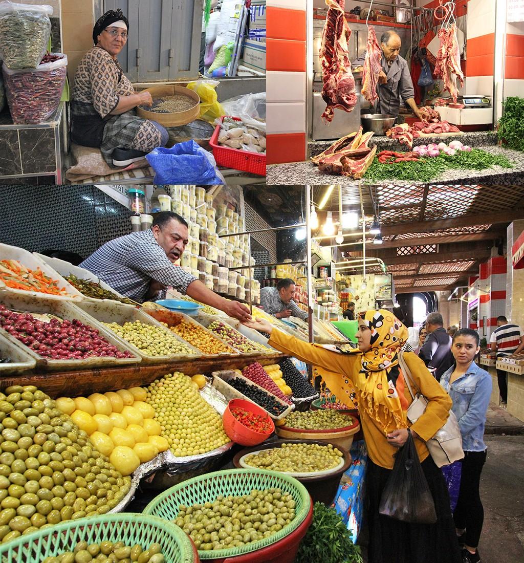 Meknès souk