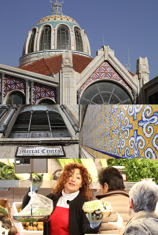 Mercado Central Art Nouveau Valencia