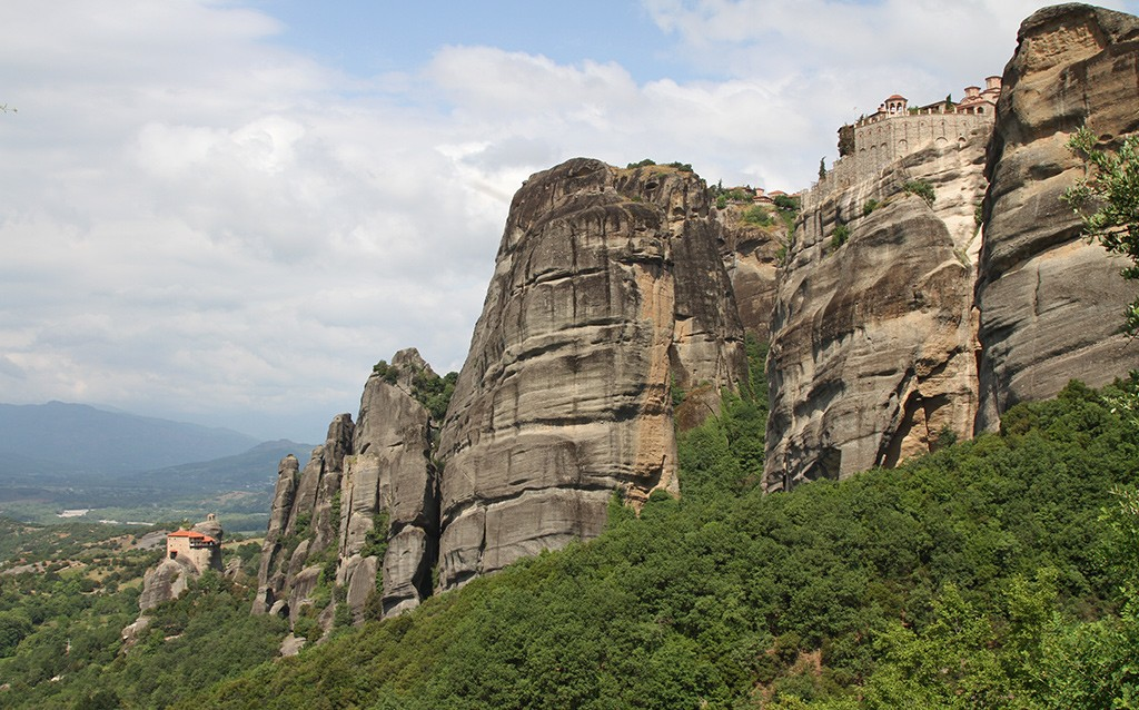 Meteora viewpoint bij Roussanou