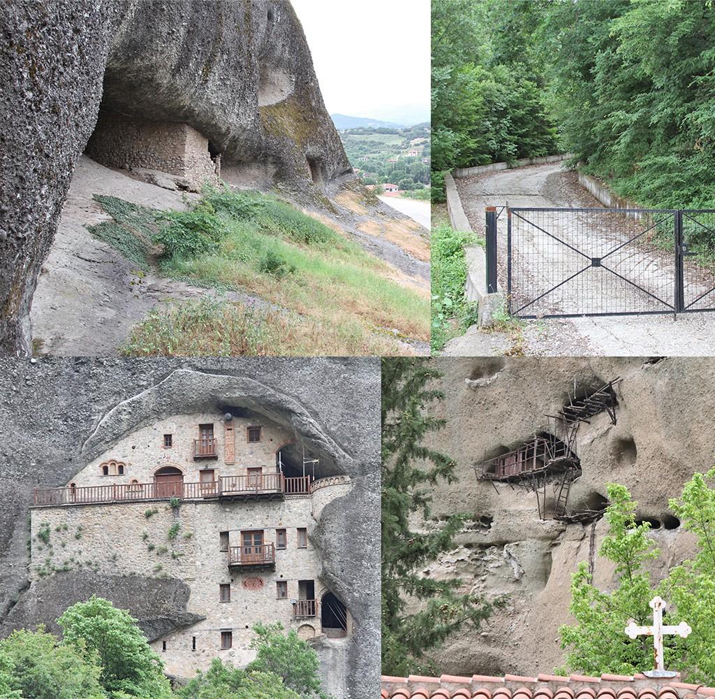 Meteora wandeling naar St. Nicholas Bantova