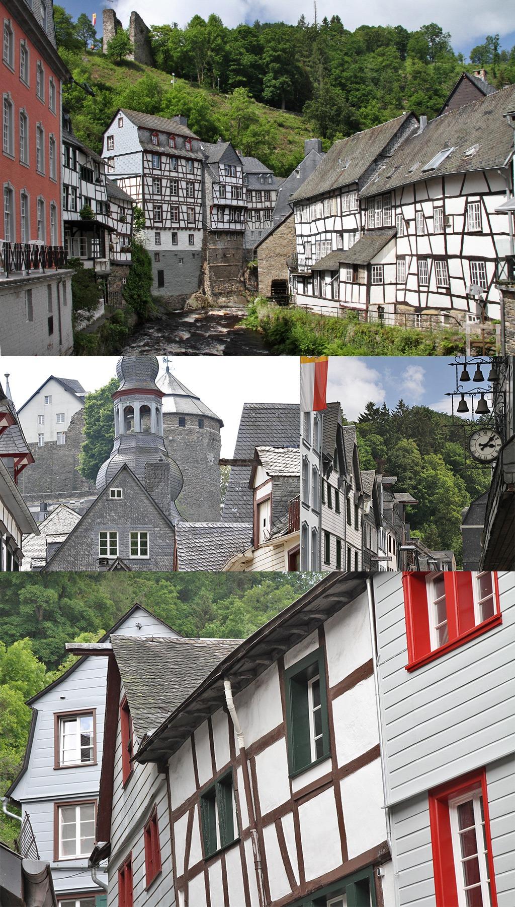 Monschau Noord Eifel