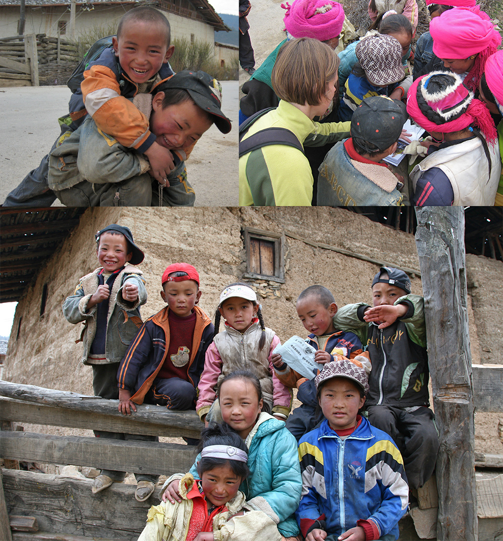 Mooie ontmoetingen in de omgeving van Zhongdian