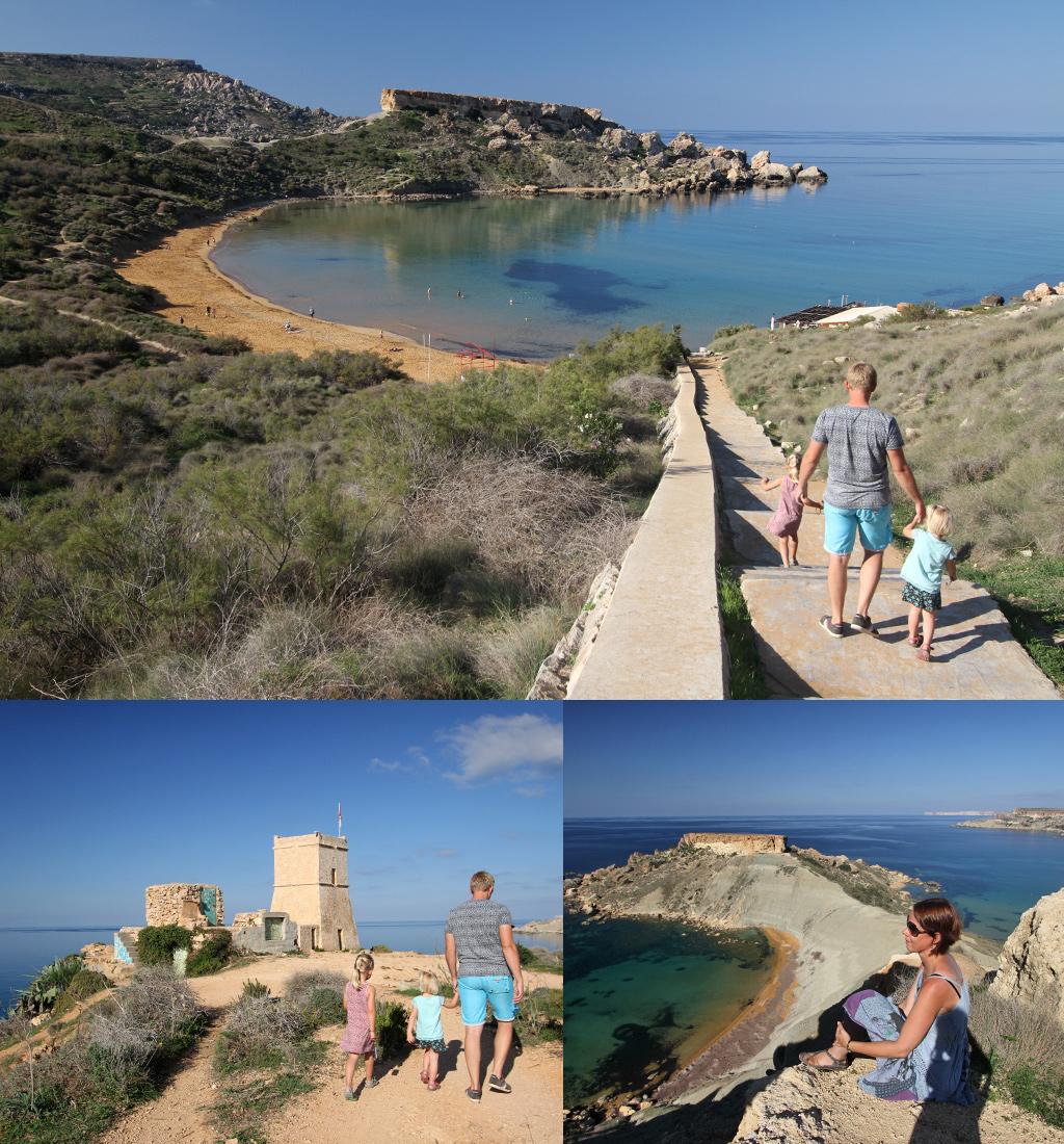 Mooiste stranden Europa - Malta