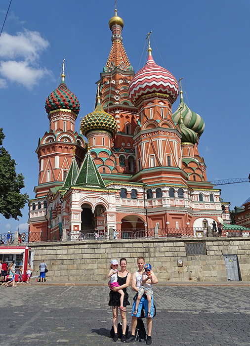 Moskou met kinderen