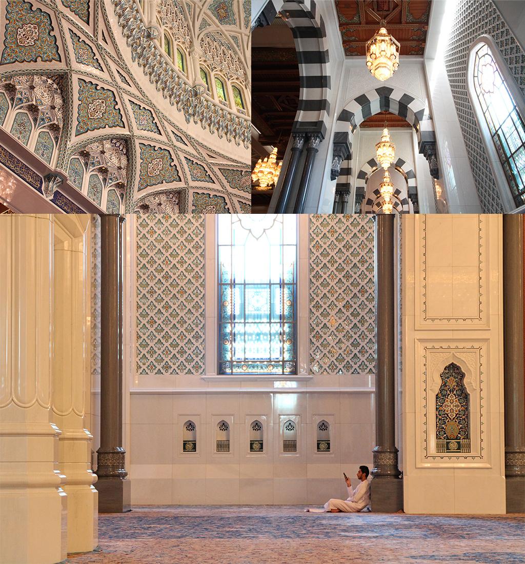 Muscat Sultan Qaboos interieur