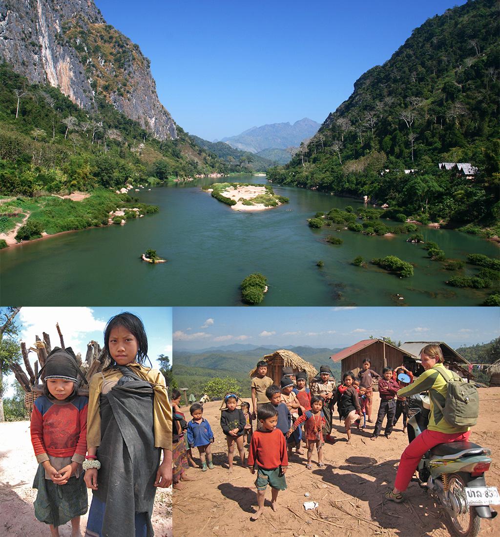 Noord Laos Zuid-Oost Azië